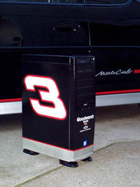 Dale Earnhardt computer case with Monte Carlo