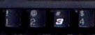 Keyboard showing iconic Earnhardt 3 for number 3 key