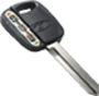 Transponder or Chip type Auto Key